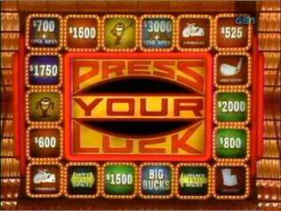 press your luck online game