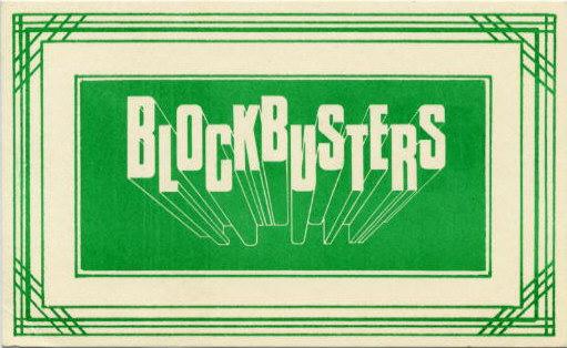 #tbt: Blockbusters